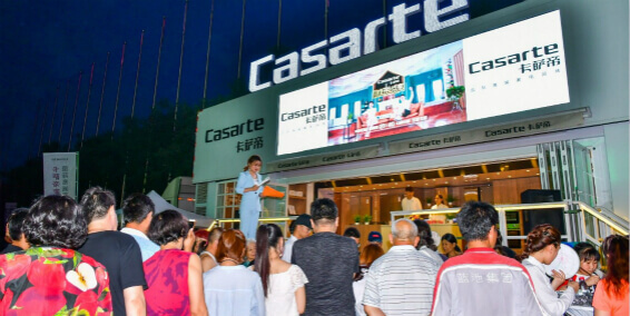 Casarte mobile event exhibition trailer