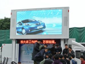 D-6 Truck LED display