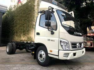 Foton truck chassis for Siwun D-6 LED billboard Truck
