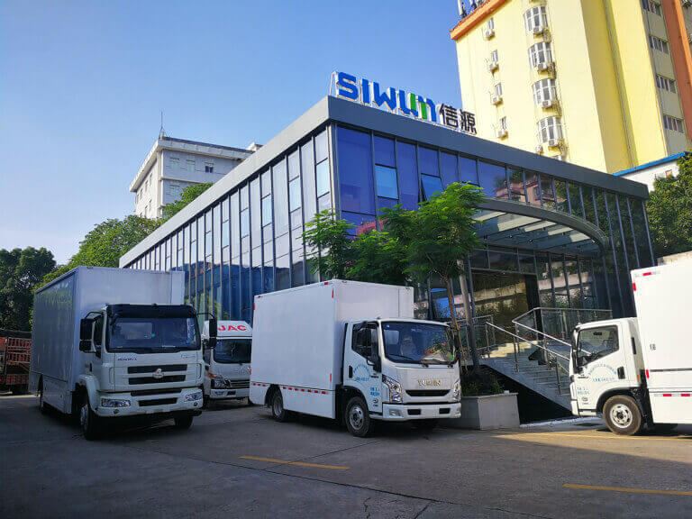 Siwun mobile advertising truck factory