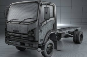 Truck chassis for D-6 pro truck
