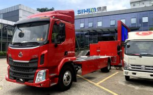 Truck chassis for Siwun smart truck box