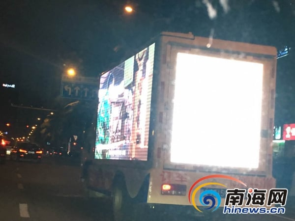 Reports of LED truck light pollution