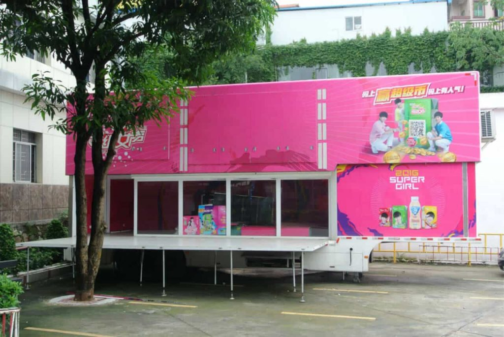 T-40D exhibition trailer in Siwun factory